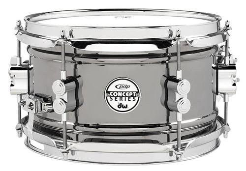 Drum Workshop Concept Snare 6x10, Bn Over Steel, Cr Hw