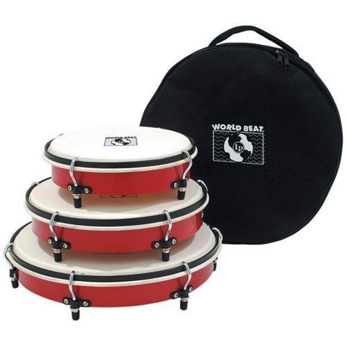 Drum Workshop World Beat 8 10 12 Plenera Pvc with Bag