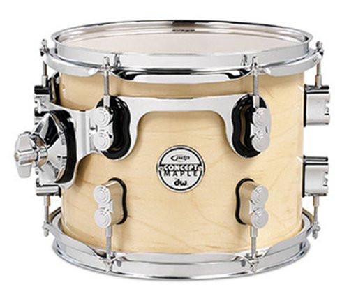 Drum Workshop Natural - Chrome Hw 8x10