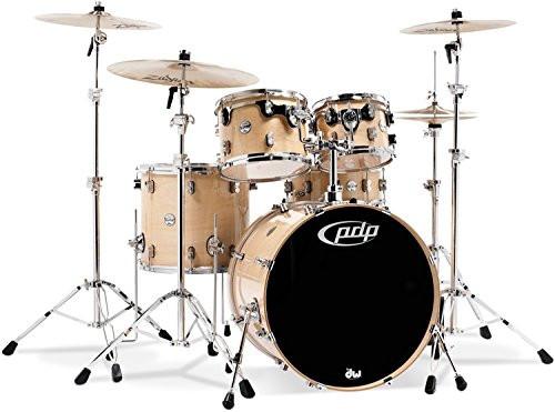 Drum Workshop Natural - Chrome Hw 5 Pcs
