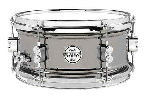 Drum Workshop Concept Snare 6x12, Bn Over Steel, Cr Hw