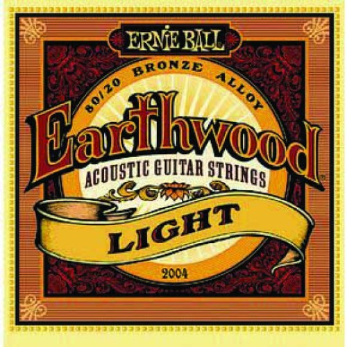 Ernie Ball Earthwood Acoustic Guitar Strings Light 11-52