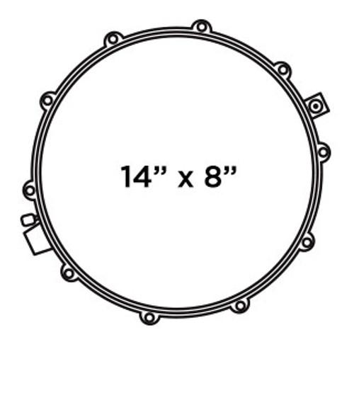 Mapex MPX 14x8 Inch Maple Snare Drum