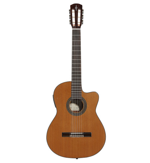 Alvarez Artist Classical Acoustic Electric w/Cutaway EQ & Tuner