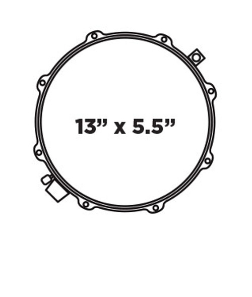 Mapex Black Panther Cherry Bomb Design Lab 13x5.5 Snare Drum