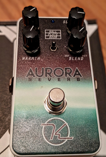 Keeley Aurora Reverb Pedal (Free 2-Day Shipping)
