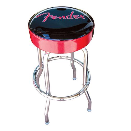 """Fender Barstool 24"""" Red/Black Sparkle"""
