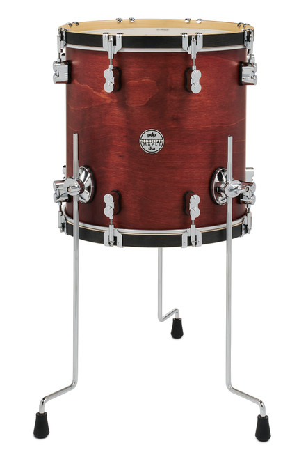 <p>CONC CLAS 14x14 FLOOR TOM, OX BLOOD STN (APDCC1414FTOB)</p>