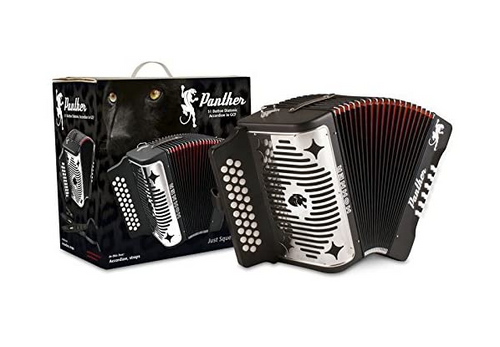 Hohner Panther Diatonic Accordion in Fa Tone