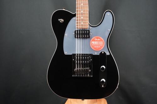 Fender Squier J5 Telecaster®, Laurel Fingerboard, Black