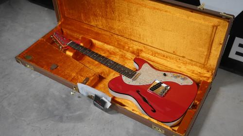 Fender FSR 2-Tone Telecaster Fiesta Red w/Hardshell Case