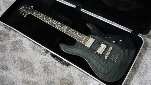 Schecter C-1 Classic See Thru Black (Used)