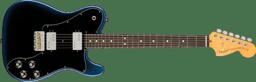 Fender American Professional II Dark Knight Telecaster Deluxe w/Hardshell Case
