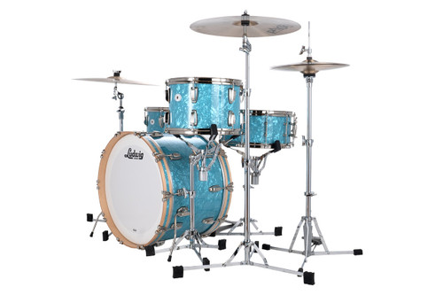Ludwig Limited Edition Classic Maple Glacier Blue Pearl (Only 75 Kits)
