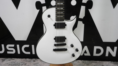 Washburn PXL20EWH Parallaxe PXL Series Solid Body Single Cut Carved 6-String Electric Guitar - White