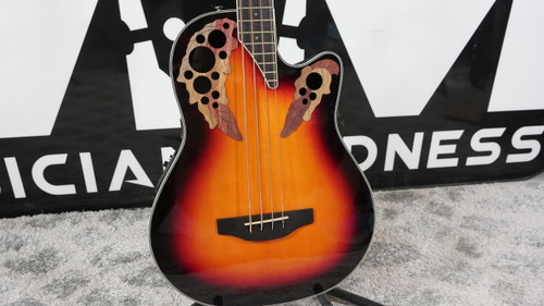 Ovation Celebrity Elite Mid Depth Bass New England Burst