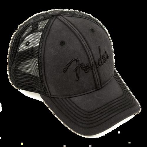 Fender Blackout Trucker Hat (In Stock)