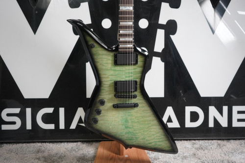 Wylde Audio Blood Eagle Electric Guitar, Left-Handed Nordic Ice B Stock