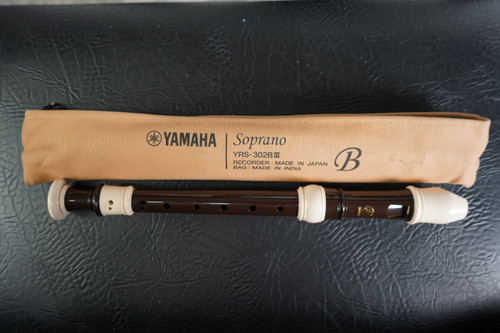 YAMAHA (Yamaha) ABS plastic recorder soprano Baroque YRS-302BIII