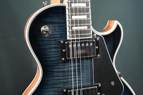 Schecter Solo II Custom Trans Black Burst Electric Guitar (Brand New)