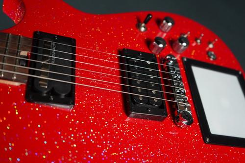 Cort MBM-1 Manson Red Santa w/Kaoss pad and Sustainiac