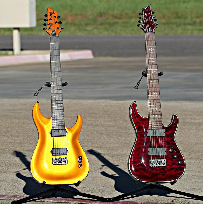 6 String Guitars vs Extended Range Guitars (7, 8, and 9 Strings)