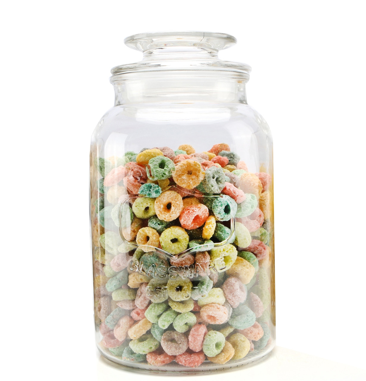Vintage Glass Jar 1500ml - OUT OF STOCK