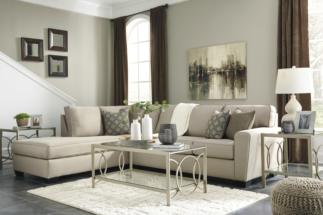 Calicho l shaped sofa set in ecru fabric out of stock odds ends kenya