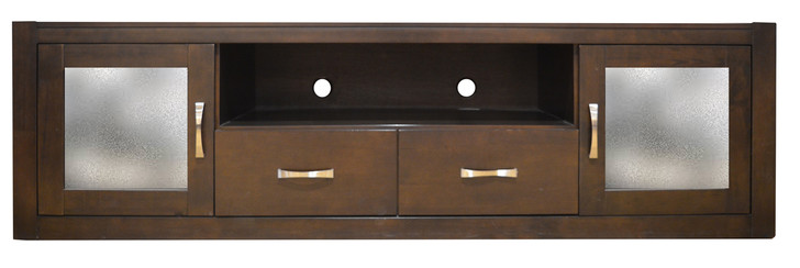 Albany Entertainment Unit in Cappuccino - OUT OF STOCK