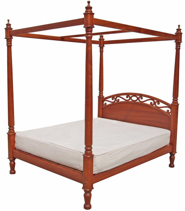 Wasini Poster Bed - Queen (King size also available)