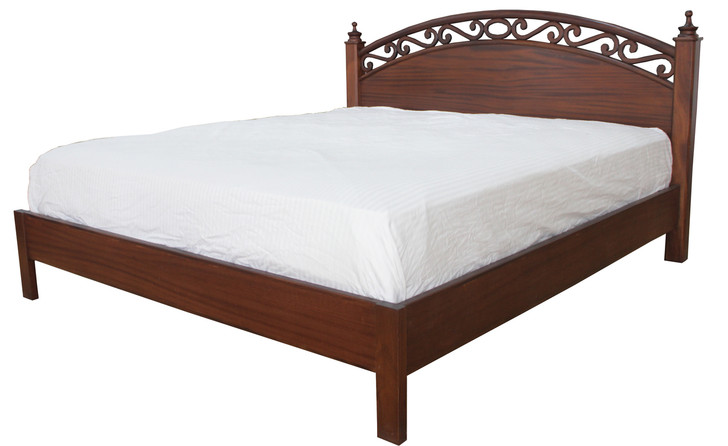Wasini Queen Bed (Also available as Single or King size)