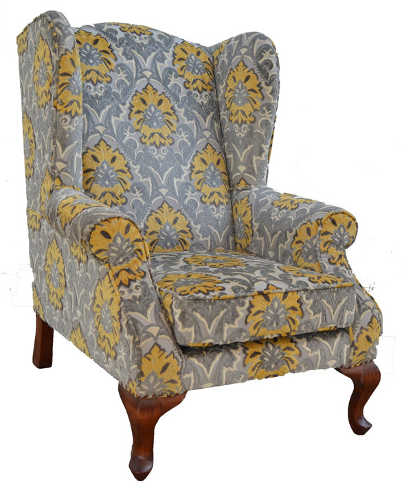 Karibu Wing Chair (Frame - Excluding Fabric)