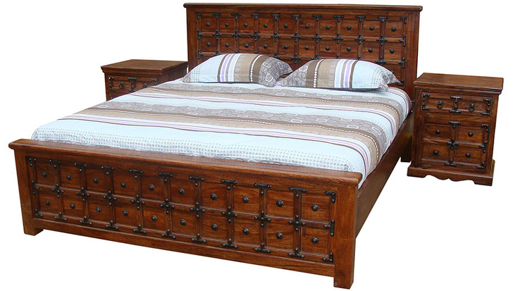 Panel Bed - Queen Size - OUT OF STOCK