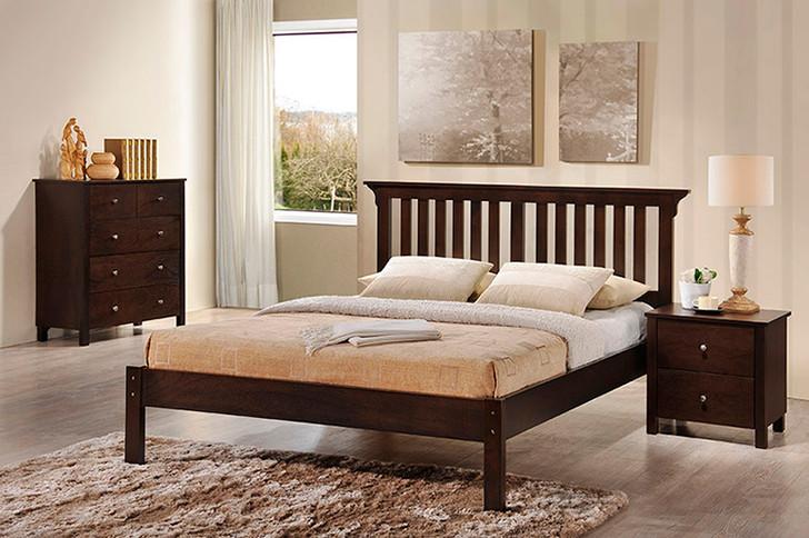 Imara Bed in Capuccino - Queen