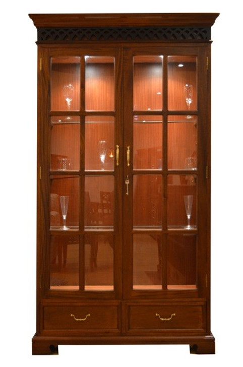 Manila Glass Door Display Cabinet