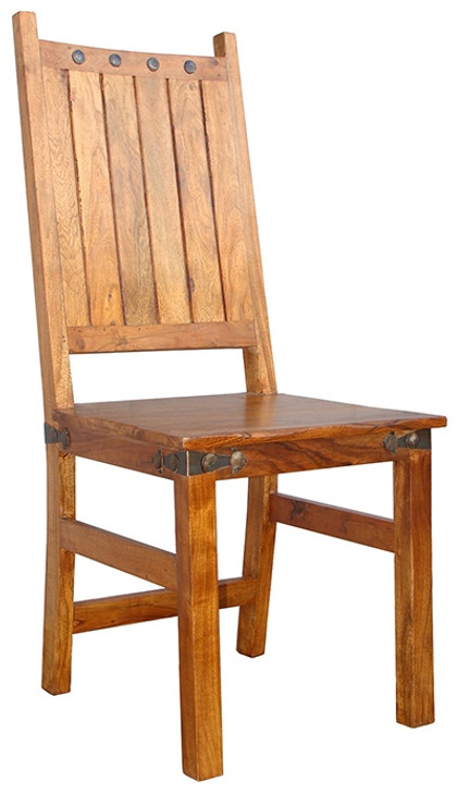 Jaipur Dining Chair - Solid back