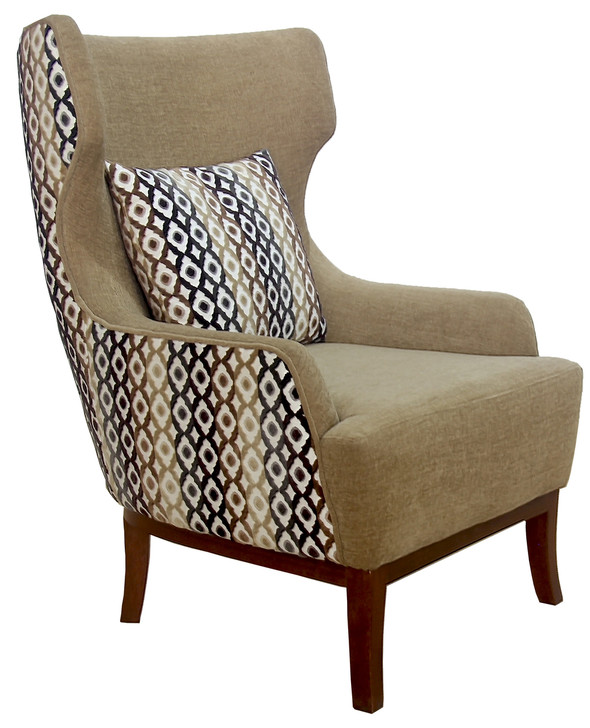 Oslo Wing Chair (Frame - Excluding Fabric)