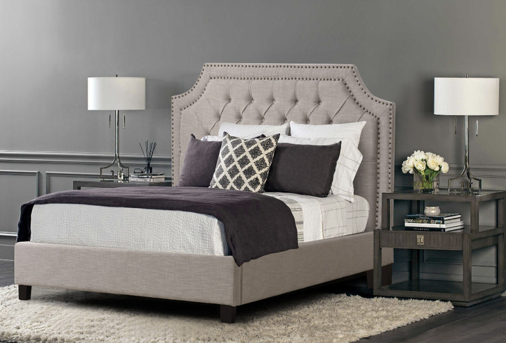 Rochelle Bed In Beige - Queen Size