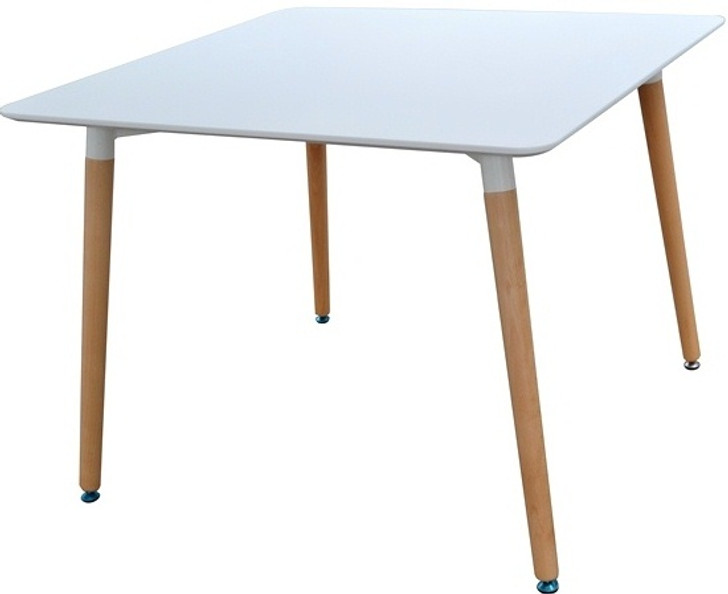 Retro Bistro Table in White 0.8m x 0.8m - OUT OF STOCK