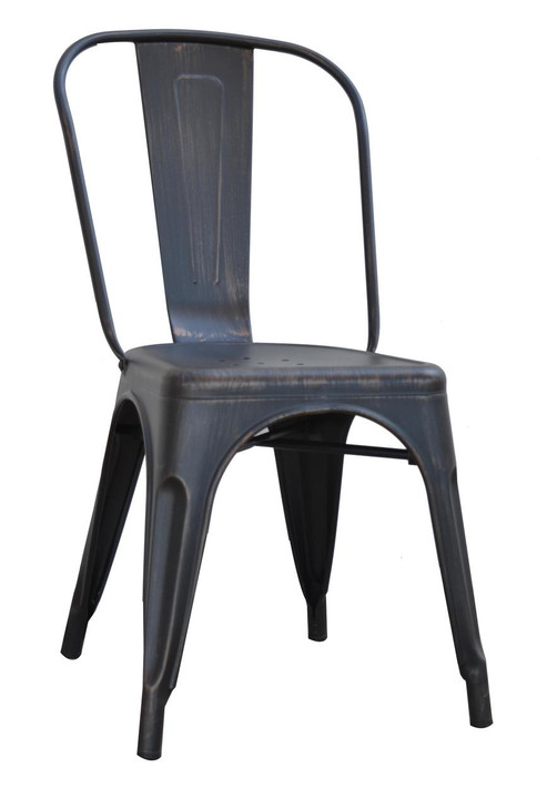 Bistro Metal Chair in Various Colours-OUT OF STOCK