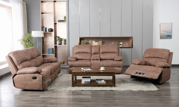 Tavros 6 Seater in Recliner Mocha - OUT OF STOCK
