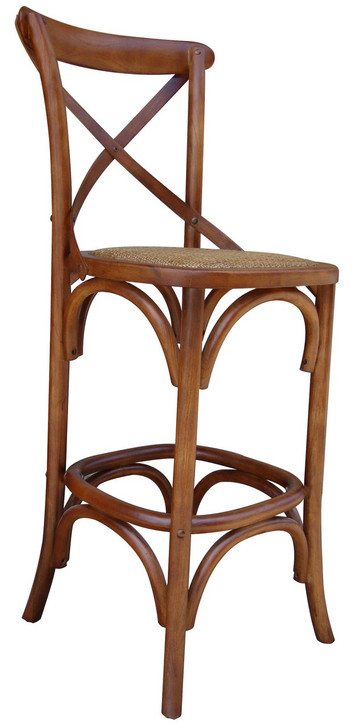 Allan Bar Chair in Brown - OUT OF STOCK