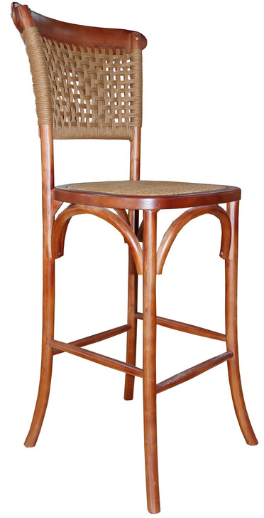 Parma Bar Chair  in Brown  - OUT OF STOCK