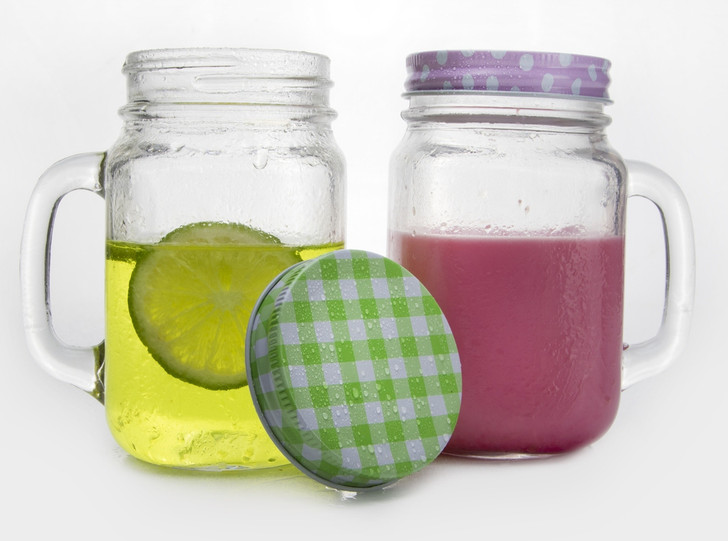 Mason Jar With Lid 450ml  -  OUT OF STOCK