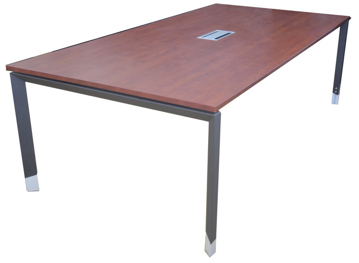 Cosmo Metal Leg Conference Table 2.4m x 1.2m