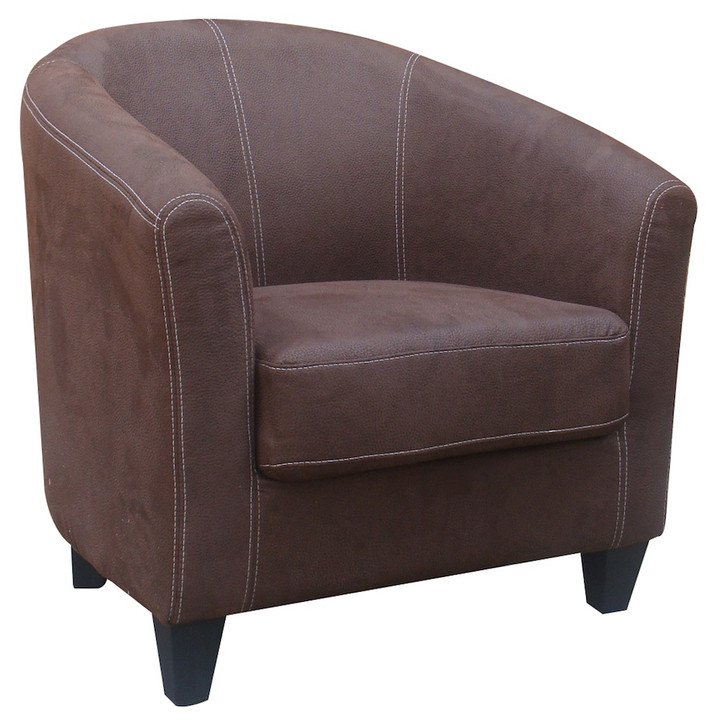 Bogoria Easy Chair C907 Brown Fabric