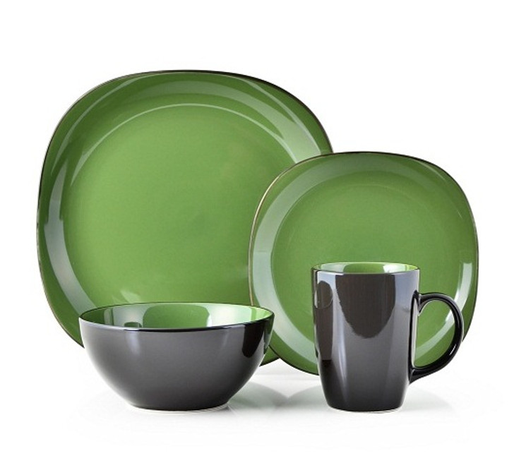 Thomson Pottery 16 Piece Dinnerware Set - Bali Green OUT OF STOCK