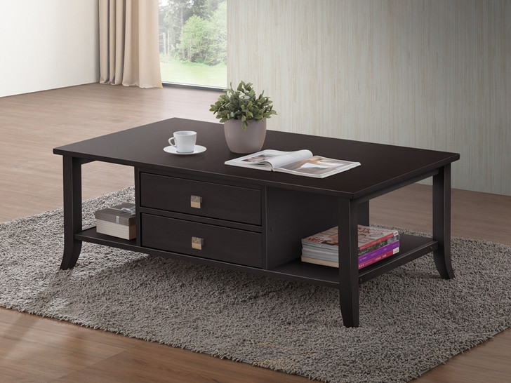 Shanghai 4 Drawer Coffee Table in Cappuccino  - OUT OF STOCK