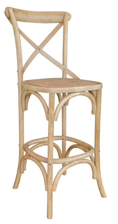 Allan Bar Chair in Natural Finish - OUT OF STOCK