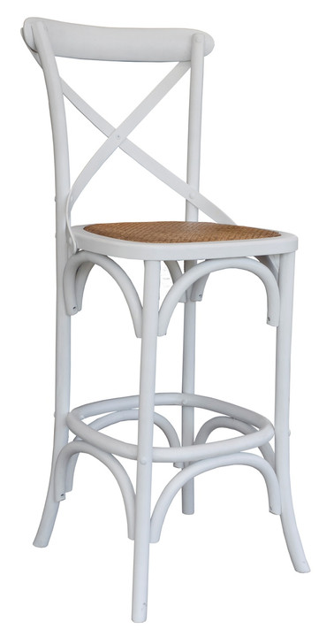 Allan Bar Chair in White - OUT OF STOCK
